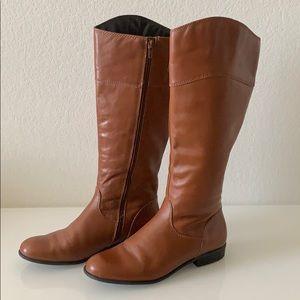 CIAO BELLA light brown riding boots Sz 7.5